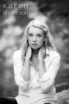 High school senior girl, Karen Anderson Photography
