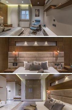 Chambre de luxe de design moderne   床   Bedroom、Luxurious bedrooms ...