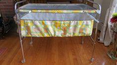 C5 - Lit bébé pliant Kantwet 70$ / Vintage Kantwet portable crib $70 | RUEFRONT.COM