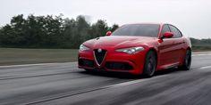 Nurburgring 7:39 http://www.roadandtrack.com/car-shows/frankfurt-auto-show/news/a26699/the-510-hp-alfa-romeo-giulia-qv-is/?zoomable