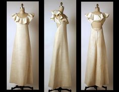 Evening dress. 1965. Madame Grès  Cotton  MET