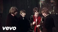 "The Beatles - Penny Lane Great video of the guys too…  ""In Penny Lane there is a fireman with an hourglass, And in his pocket is a portrait of the queen, He likes to keep his fire engine clean, It's a clean machine…"""