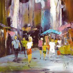 Image associée Umbrella Art, Art Ideas, Painting, Image, Characters, Painting Art, Paintings, Paint, Drawings