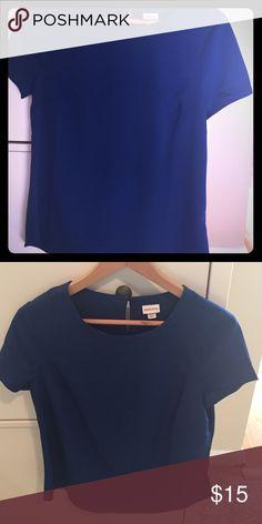 Merona short sleeve silk tee (size medium) New without tags cobalt silk tee size medium. Merona Tops Tees - Short Sleeve