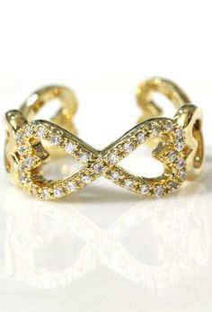 Infinity ring would be cute silver