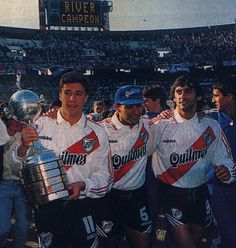 River con Libertadores del 96