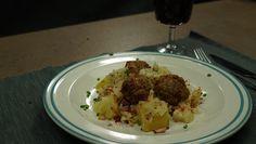 Hlávkové zelí, mleté kuličky a brambory v jednom pekáčku Cauliflower, Vegetables, Cauliflowers, Vegetable Recipes, Cucumber, Veggies