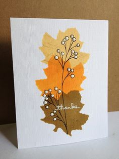 I'm in Haven: CAS(E) this Sketch 39...Fall Leaves