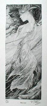 MERMAID (Ltd print) by Ed Org
