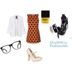 Geek Chic- GLaDOS, created by mackenzie-kate-monster-mellen on Polyvore