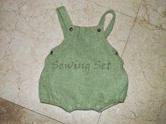 Sewing set: PATRÓN 11: RANITA BEBÉ