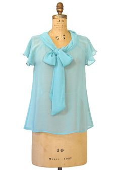 Minted to Perfection Blouse - $26.99 : Spotted Moth, Chic and sweet clothing and accessories for women