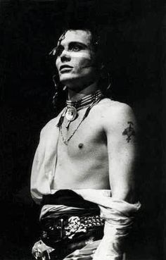 """...""""Hello, I love you, won't you tell me your name?"""" Wow, I could NOT get enough of Monsieur Adam Ant in my younger days. Both He AND his music were just irresistible..."""