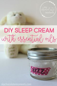 DIY sleep cream with