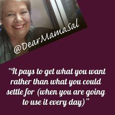 #quote #dearmamasal #dontsettle