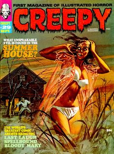 Creepy. No. 29. Sept 1969. Cover art by Vic Prezio