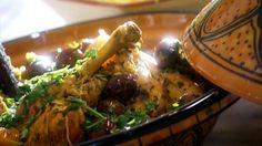 Tajine de poulet aux olives et au citron confit - Recettes - À la di Stasio