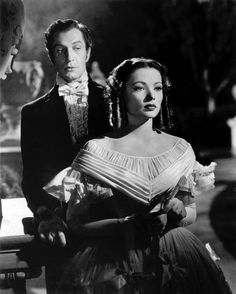 Vincent Price and Gene Tierney in Dragonwyck (1946)