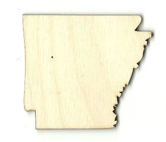 Wooden Pieces 71178: Arkansas - Unfinished Laser Cut Out Wood Shape Craft Supply -> BUY IT NOW ONLY: $33.4 on eBay!