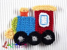 Listing is for crochet embellishments, mix of colours.  Would look fantastic sewn on a bag, jacket, jeans, hut, tunic etc.