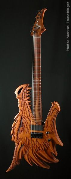 Pretty Epic Guitar! Caleb would Love this!