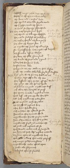 Karlskrönikan [ms, ca 1450] sidan 1 faksimil | Litteraturbanken