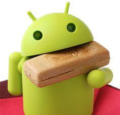 I want this as a little figurine! I love the Android robot :D <3