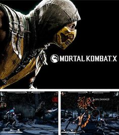Download Mortal Kombat X v1.11.1 - free Android game in addition to the apk game Grand theft auto: San Andreas v1.0.8.