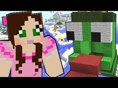 Minecraft: Tropical Vacation - WATERSLIDE 2000! - Custom Map [2] - YouTube