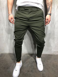 Back in stock! Striped ankle pants restocked after selling out in 2 weeks Available for only $57.99 Check it out https://www.gentlemantobe.com/collections/striped-ankle-pants