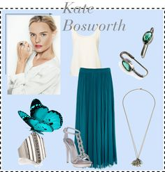 """""""Kate Bosworth-Jewelmint"""" by wearyourbitchface ❤ liked on Polyvore"""