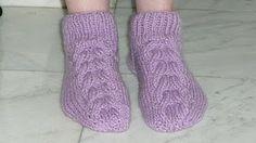 Sa invatam sa crosetam si sa tricotam: sosete tricotate pas cu pas