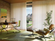 Hunter Douglas Luminette ® Modern Draperies with PowerGlide® www.budgetblinds.com