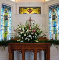 Lake Oconee Wedding | Pink and Yellow Wedding | Event and Wedding Planning | Natalie Bradley Events | Church Wedding
