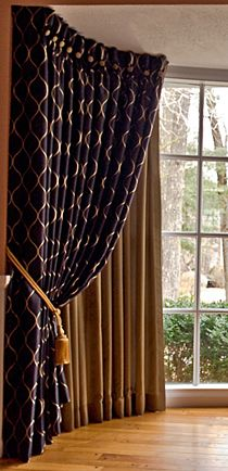 Custom window treatments from conception to installation. Servicing cities and towns in a 50 mile radius of Andover, MA. Custom Window Treatments, Custom Windows, Decorating Websites, Curtains, Design, Home Decor, Blinds, Decoration Home, Room Decor