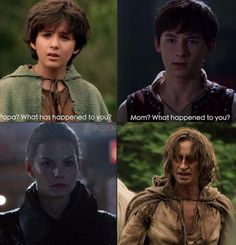 sarah-evilregal:  This comparison is just heart breaking…   1x8 and 5x1 episodes
