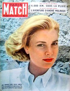 Paris Match -  Grace,1954.