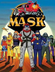 M.A.S.K.- also a good show as a kid.