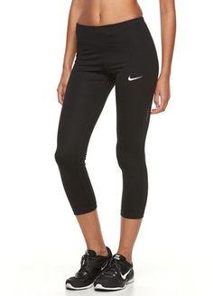 Women's Nike Power Essential Running Capris #nike