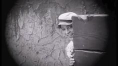 Rudolph Valentino Plays hide and Seek