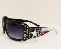 Texas Flag Bling Sunglasses