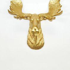 The MINI Elcide | Mini Gold Moose Head