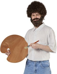 Bob Ross 80u0027s halloween party costume //.mybigdaycompany.com/  sc 1 st  Pinterest : funny 80s costume  - Germanpascual.Com