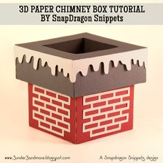 3 under 3 and more: 3D Chimney Assembly Tutorial