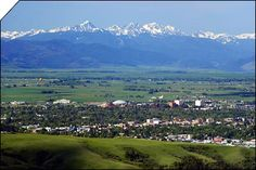 Bozeman, MT, where I went to college.  Man I miss those mountains!!