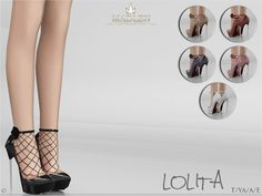Sims 4 CC's - The Best: Madlen Lolita Shoes by MJ95