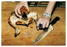Helmut Newton / beauty vs brutality