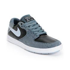 sports shoes 6f45b 5ef30 Nike SB P-Rod 7 Premium Slate Grey   Black Skate Shoes