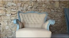 vintage, barokk fotel Country Chic, Armchair, Shabby Chic, Wall, Modern, Furniture, Home Decor, Sofa Chair, Single Sofa