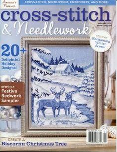 Cross-Stitch & Needlework January 2015 Magazine  by DebiCreations